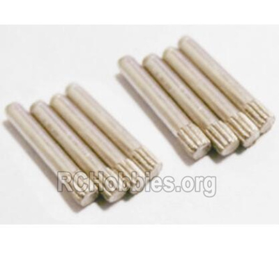 HBX 2128 Wildrider Parts-Pin Parts-Suspension Pins(1.5x12mm)-8pcs Parts-25017
