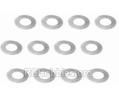 HBX 2128 Wildrider Parts-Diff. Washers(φ5.88.50.2mm)-12pcs Parts-25023