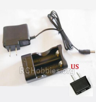 HBX 2128 Wildrider Parts-Charge Box and Charger(USA Standard Socket) Parts-25027
