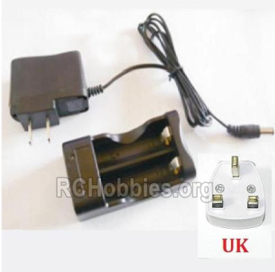 HBX 2128 Wildrider Parts-Charge Box and Charger(United Kingdom Standard Socket) Parts-25029