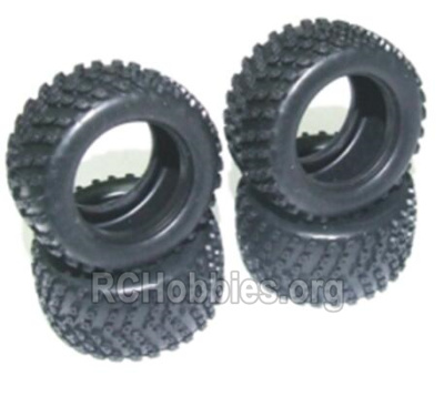HBX 2128 Wildrider Parts-Tire lether(4pcs)-Not include the Wheel hub Parts-24027R