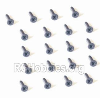 HBX 2128 Wildrider Screw Parts-Countersunk Head Screw-2X3mm(20PCS) Parts-25054