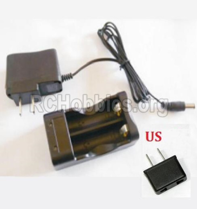 HBX 2138 Fire Runner Parts-Charger Parts-Charge Box and Charger(USA Standard Socket) Parts-25027