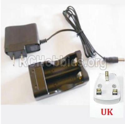 HBX 2138 Fire Runner Parts-Charger Parts-Charge Box and Charger(United Kingdom Standard Socket) Parts-25029