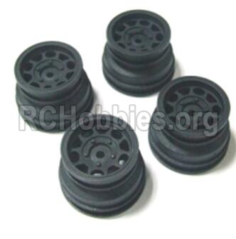 HBX 2138 Fire Runner Parts-Wheel Hub Parts-Wheel Hub(4pcs)-Not include the tire lether Parts-24029