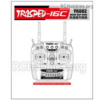 HG P408 16-Channel Transmitter Manual Parts