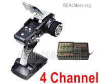 HG P408 4 Channel Transmitter + 4 Channel Receiver Parts