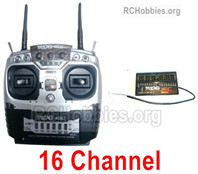 HG P408 16 Channel Transmitter Parts + 16 Channel Receiver Parts
