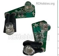 HG P408 Rear Steering Light board Parts. Left + Right. HMDZ-(002-003)