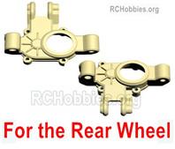 HG P408 Rear wheel hanging treasure chest bottom(Left+Right). HUMVEE-(014-015)
