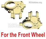 HG P408 Front wheel hanging treasure chest bottom(Left+Right). HUMVEE-(017-018)