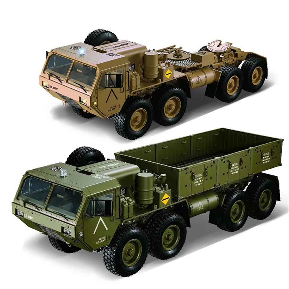 HG P801 P802 RC Military Truck,HG P801 P802 RC HEMTT Car,1/12 8X8 U.S. Military Truck