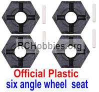 Subotech BG1520 Official Plastic Combination device, six angle wheel seat(4pcs)+Pin(4pcs)-S15201703