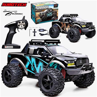 Subotech BG1525 WARRIOR 1/10 RC Car, Subotech 1/10 2.4G 4WD 22km/h High-Speed Racing Climbing Electric Proportional Control RC Car Buggy