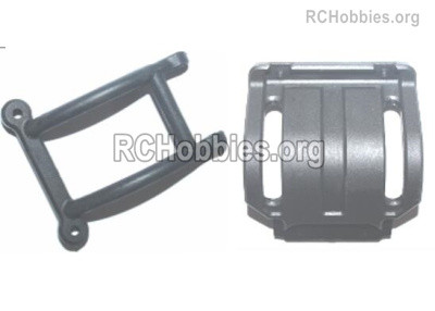 Subotech BG1525 Rear safety frame components Parts. S15060201+204