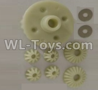 Wltoys 10402 RC Car Parts-Differential gear set-10402.0853,Wltoys 10402 Parts