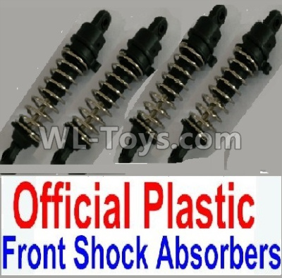 Wltoys 10402 RC Car Parts-Plastic Front and Rear Shock Absorbers(4pcs)-10402.0880 10428-2.0340,Wltoys 10402 Parts