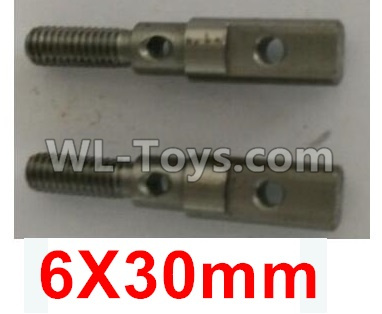 Wltoys 10402 RC Car Parts-Wheel seat shaft(2pcs)-6X30mm-10402.0865,Wltoys 10402 Parts