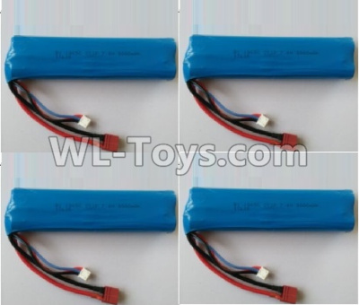 Wltoys 10402 RC Car Parts-battery-7.4V 3000MAH 15C Battery(4pcs)-136x37x19mm-10402.0884,Wltoys 10402 Parts