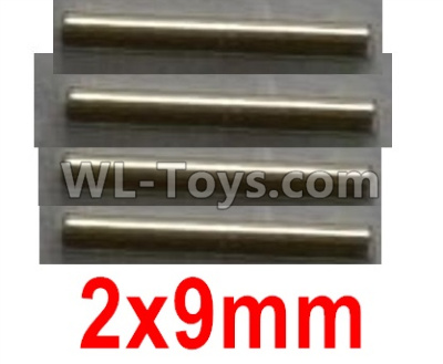 Wltoys 10402 RC Car Parts-Optical axis-2X9mm(4pcs)-12401.0299,Wltoys 10402 Parts