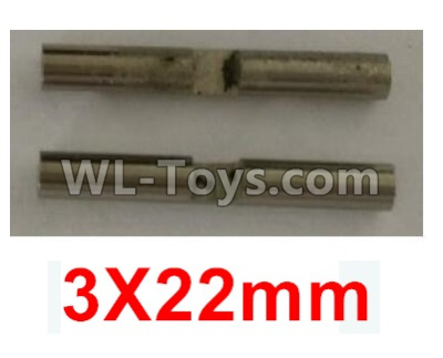 Wltoys 10402 RC Car Parts-Planetary gear shaft(2pcs)-3X22mm-K949-52,Wltoys 10402 Parts