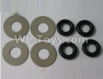Wltoys 10402 RC Car Parts-Pinghua Division,gasket(total 8pcs)-K949-70,Wltoys 10402 Parts
