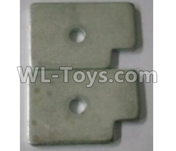 Wltoys 10402 RC Car Parts-Counterweight block B(2pcs)-35.6x24.4x3mm-10402.0889,Wltoys 10402 Parts