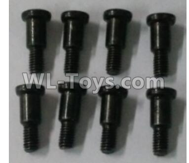 Wltoys 10402 RC Car Parts-Round head cross step screw(8pcs)-3.1X11PM-D5.8 lower half tooth - tooth length 5.5mm-10402.1016,Wltoys 10402 Parts