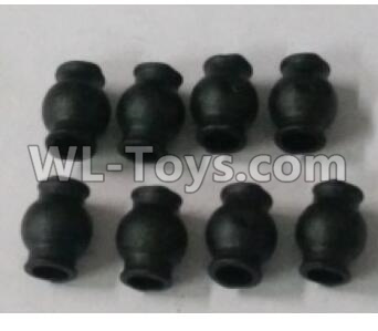 Wltoys 10402 RC Car Parts-6.0X7.9mm ball head screws Parts(8pcs)-10428-2.0366,Wltoys 10402 Parts