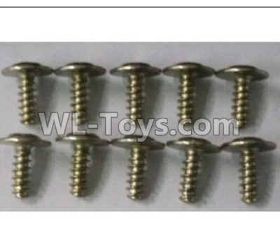 Wltoys 10402 RC Car Parts-Round head cross with self-tapping screws Parts(10pcs)-ST3x8PWB-W8-10402.0873,Wltoys 10402 Parts