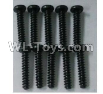 Wltoys 10402 RC Car Parts-10402.0883 Round head self tapping screw(10pcs)-ST3X16PB-D5.5,Wltoys 10402 Parts