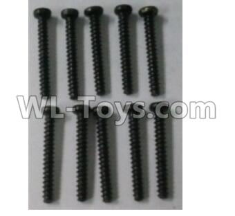 Wltoys 10402 RC Car Parts-A949-41 Round head self tapping screw(10pcs)-ST 2X16PB-D3.5,Wltoys 10402 Parts