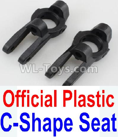 Wltoys 10428-B2 RC Car Parts-Plastic C-Shape Seat Parts-2pcs-K949-10,Wltoys 10428-B2 Parts