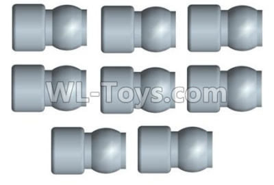 Wltoys 10428-B2 RC Car Parts-5.8X9mm ball head screw set(8pcs)-10428-2.0751,Wltoys 10428-B2 Parts