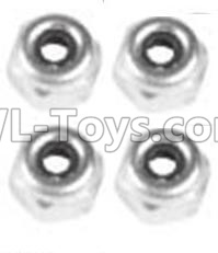 Wltoys 10428-B2 RC Car Parts-M4 Locknut(4PCS)-A929-94,Wltoys 10428-B2 Parts