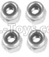 Wltoys 10428-B2 RC Car Parts-M3 Locknut(4PCS)-A929-95,Wltoys 10428-B2 Parts