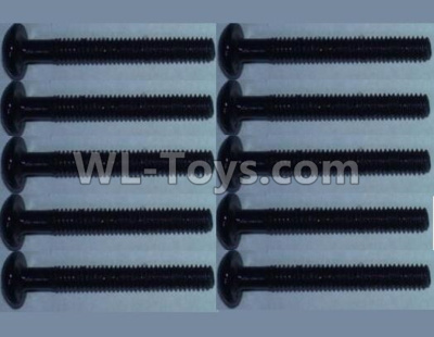 Wltoys 10428-B2 RC Car Parts-head inner hexagon Screws-2.5X16(10PCS)-10428-B.0321,Wltoys 10428-B2 Parts