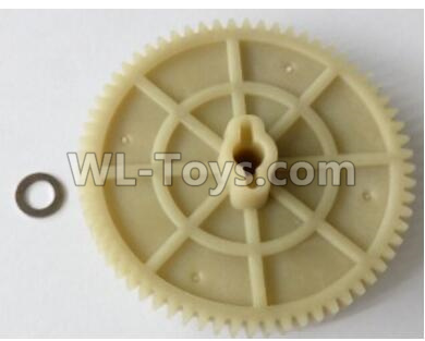Wltoys 10428-B2 RC Car Parts-Large reduction gear 65T-10428-2.0327,Wltoys 10428-B2 Parts