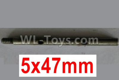 Wltoys 10428-B2 RC Car Parts-First stage drive shaft-5X47mm-10428-2.0329,Wltoys 10428-B2 Parts