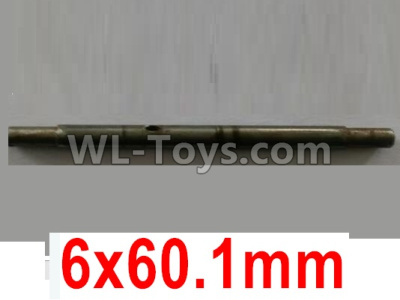 Wltoys 10428-B2 RC Car Parts-Spindle,Main shaft-6x60.1mm-10428-2.0331,Wltoys 10428-B2 Parts