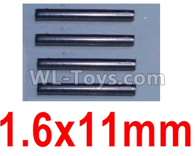 Wltoys 10428-B2 RC Car Parts-1.6X11mm optical axis(4pcs)-K949-100,Wltoys 10428-B2 Parts