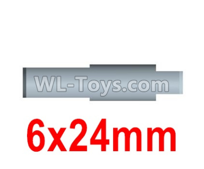 Wltoys 10428-B2 RC Car Parts-Rear axle drive pinion shaft-6X24mm(For Rear bridge axle)-10428-2.0338,Wltoys 10428-B2 Parts