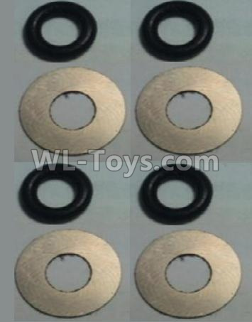 Wltoys 10428-B2 RC Car Parts-Flat Washer(Total 4set,8pcs)-10428-2.0584,Wltoys 10428-B2 Parts