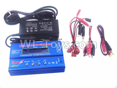 Wltoys 10428-B2 RC Car Upgrade B6 Balance charger and Power Charger unit(Can charger 2S 7.4v or 3S 11.1V Battery),Wltoys 10428-B2 Parts