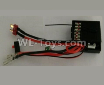 Wltoys 10428-B2 RC Car Parts-2.4G Receiver board Parts,Circuit board-10428-2.0474,Wltoys 10428-B2 Parts