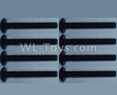 Wltoys 10428-B2 RC Car Parts-Pan head inner hexagon Screws-M2.5X20-(8pcs),Wltoys 10428-B2 Parts