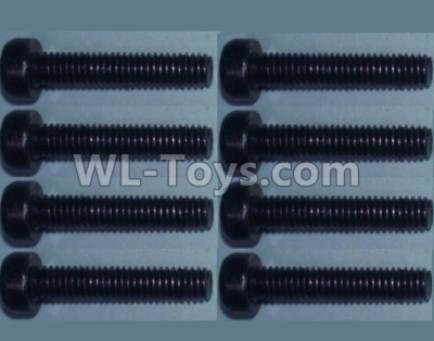 Wltoys 10428-B2 RC Car Parts-Cup head inner hexagon Screws-M2.5X20-(8pcs),Wltoys 10428-B2 Parts