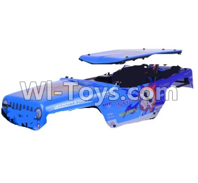 Wltoys 10428-A Parts-130-07 K949-A-120 Car shell(Not include the Car shell frame),Wltoys 10428-A Parts