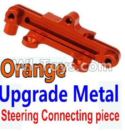Wltoys 10428-A Car Upgrade Parts-Upgrade Metal Steering connecting piece-Orange,Wltoys 10428-A Mods