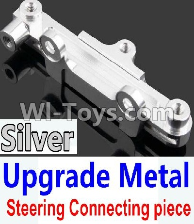 Wltoys 10428-A Car Upgrade Parts-Upgrade Metal Steering connecting piece-Silver,Wltoys 10428-A Mods